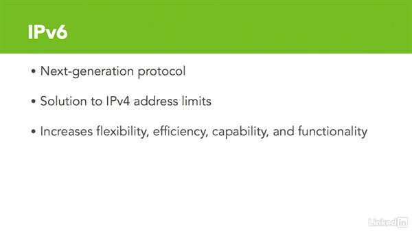 Introduction to IPv6: Cert Prep: Cisco Certified Entry Networking Technician (100-105)