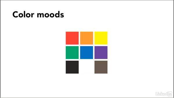 Using color to set the site's mood: Design Aesthetics for the Web