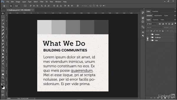 Challenge: Working with color: Design Aesthetics for the Web