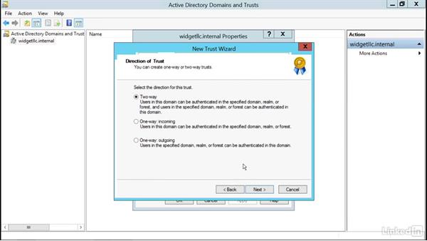 Configure linked mailboxes: Microsoft Exchange Server 2016 Administration