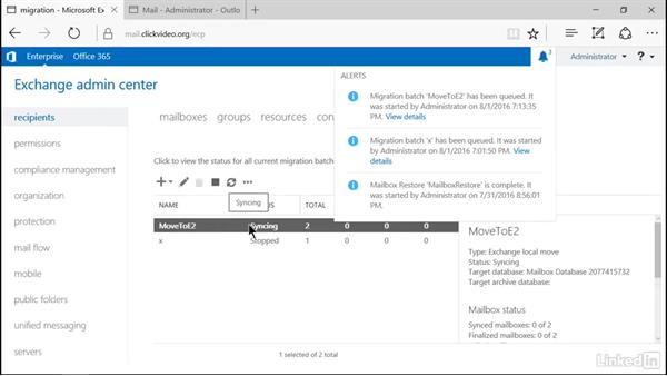 Recover a mailbox server role: Microsoft Exchange Server 2016 Administration