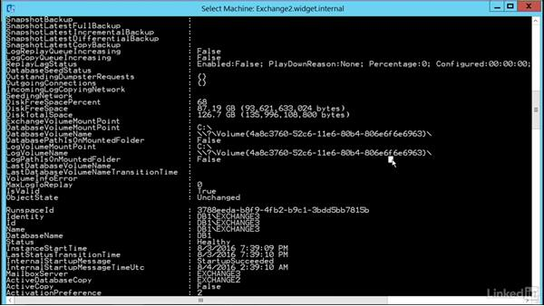 Monitor database replication and content indexing: Microsoft Exchange Server 2016 Administration