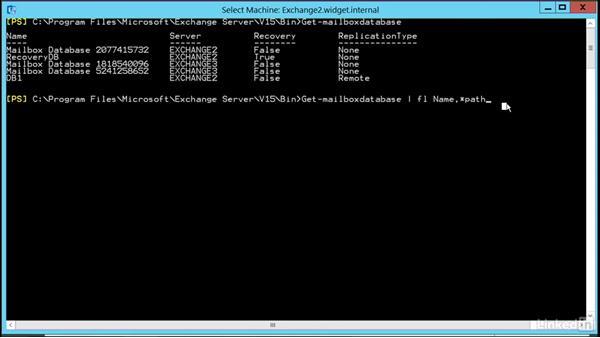 Troubleshoot database failures: Microsoft Exchange Server 2016 Administration