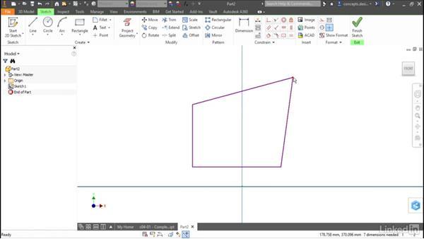 Overview of sketching: Cert Prep: Autodesk Inventor Certified Professional