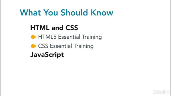 What you should know before watching this course: jQuery Essential Training