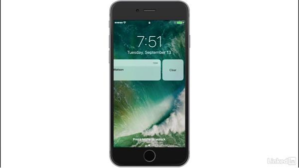 Lock Screen: iOS 10: iPhone and iPad New Features