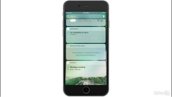 Widgets and 3D touch enabled notifications: iOS 10: iPhone and iPad New Features
