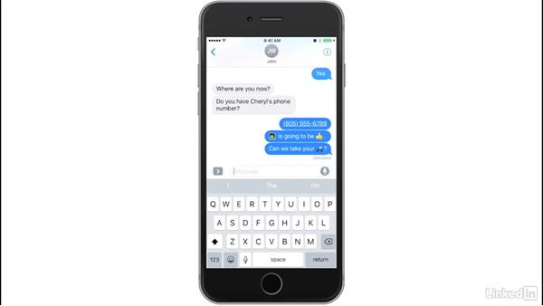 Predictive typing suggestions and keyboard multi-language support: iOS 10: iPhone and iPad New Features