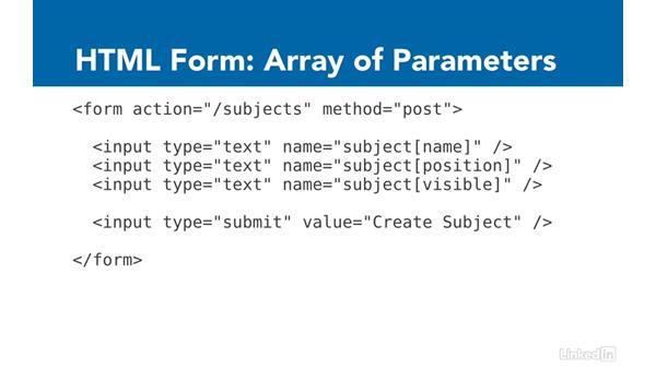 Form basics: Ruby on Rails 5 Essential Training