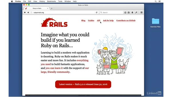 Next steps: Ruby on Rails 5 Essential Training