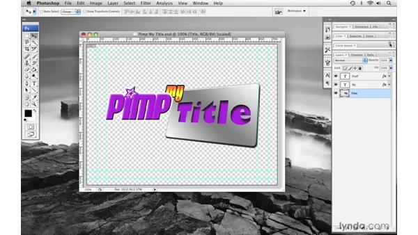 Introducing the Photoshop interface: Final Cut Pro 6 with Photoshop CS3 Integration