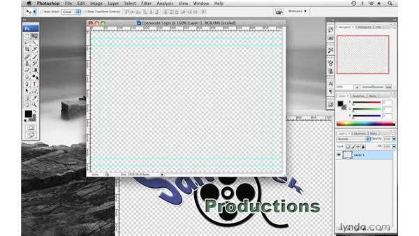 Creating a corporate logo pt. 1: Final Cut Pro 6 with Photoshop CS3 Integration