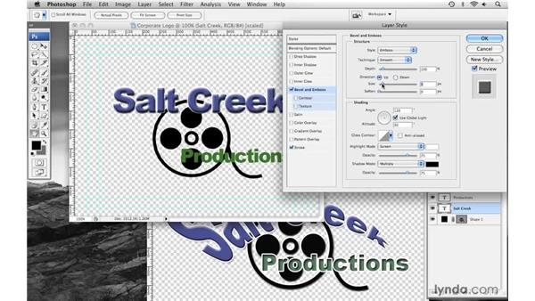 Creating a corporate logo pt. 2: Final Cut Pro 6 with Photoshop CS3 Integration