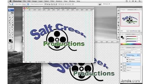 Creating a corporate logo pt. 3: Final Cut Pro 6 with Photoshop CS3 Integration