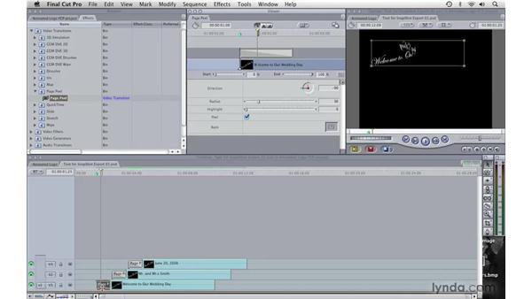Creating titles pt. 3: Final Cut Pro 6 with Photoshop CS3 Integration