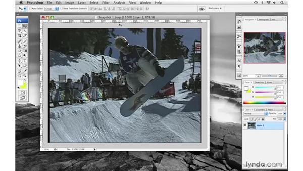 Creating a snapshot effect pt. 1: Final Cut Pro 6 with Photoshop CS3 Integration