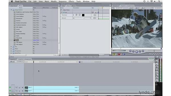 Creating a snapshot effect pt. 3: Final Cut Pro 6 with Photoshop CS3 Integration