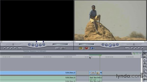 Editing in the timeline: Final Cut Studio Overview