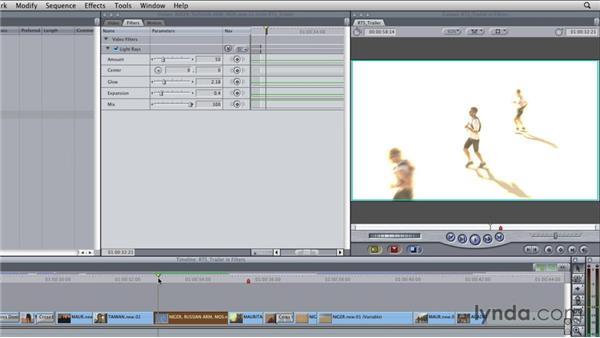 Applying filters: Final Cut Studio Overview