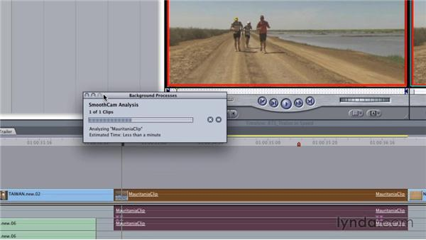 Stabilizing footage with Smoothcam: Final Cut Studio Overview