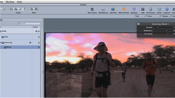 Adding filters: Final Cut Studio Overview