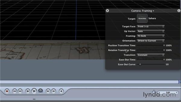 Using camera behaviors: Final Cut Studio Overview