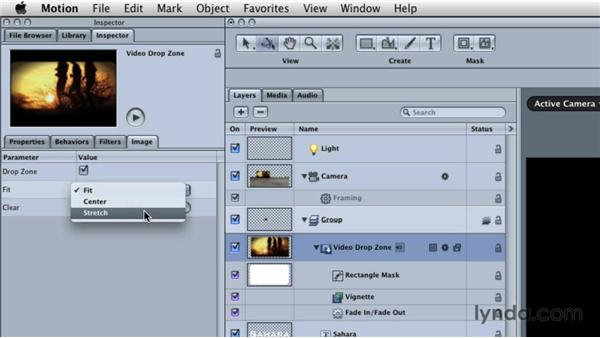 Creating Motion templates for Final Cut Pro: Final Cut Studio Overview