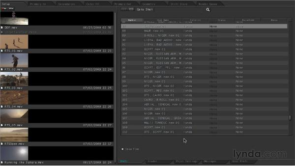 Exploring the Color interface: Final Cut Studio Overview