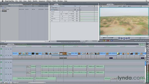 Sending a Final Cut Pro sequence to Color for grading: Final Cut Studio Overview