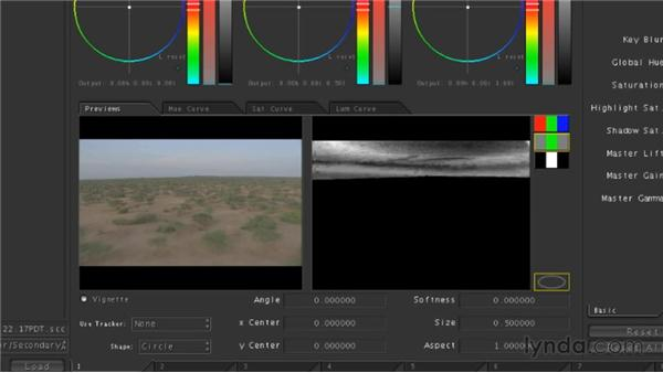 Performing secondary color corrections: Final Cut Studio Overview