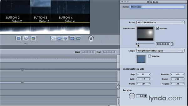 Creating a DVD using templates: Final Cut Studio Overview