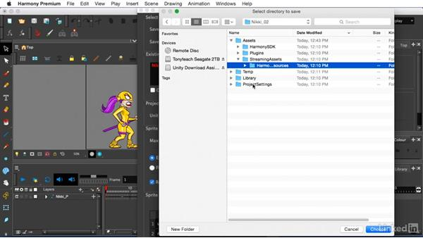 Export to Unity: Harmony to Unity: Animate 2D Characters