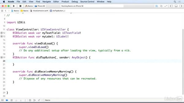 Text fields: iOS 10 App Development Essentials 1: Create Your First App
