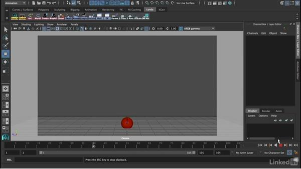 Challenge: An exercise with a ball: 12 Principles of Animation for CG Animators