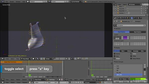 Principle 4: Pose-to-pose: 12 Principles of Animation for CG Animators