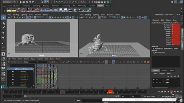 Combine them to form copied pairs: 12 Principles of Animation for CG Animators