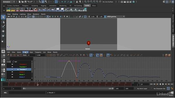 Using tangents to control slows/fasts: 12 Principles of Animation for CG Animators