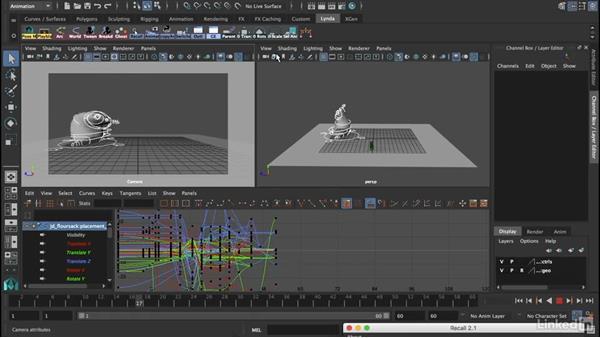 Challenge: An exercise with a flour sack: 12 Principles of Animation for CG Animators