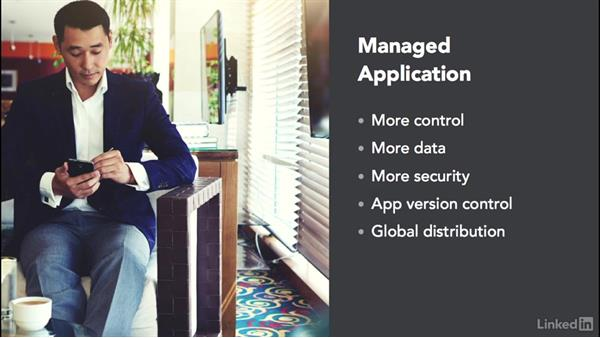 Mobile applications: Windows 10: Intune Device Management