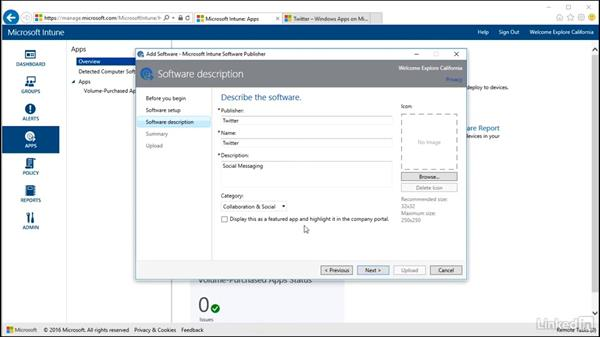 Support mobile device policies: Windows 10: Intune Device Management