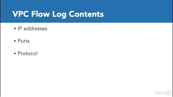 Understanding VPC flow logs: Amazon Web Services: Networking