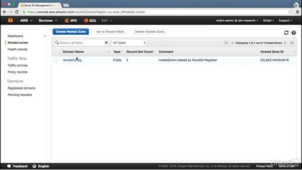 Configure private DNS: Amazon Web Services: Networking