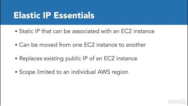 Understanding elastic IP address