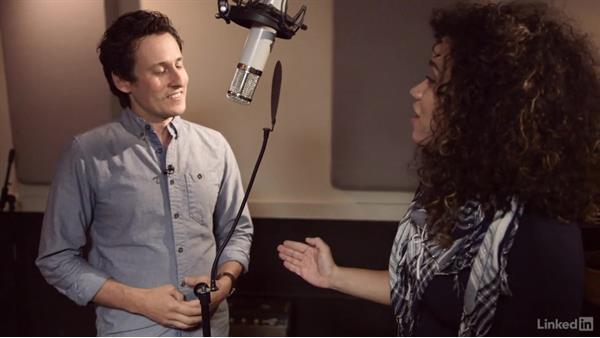 Dealing with dynamics: Microphone technique: Vocal Production Techniques