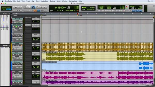Dealing with dynamics: Using compression: Vocal Production Techniques