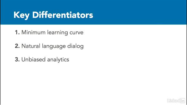 Reviewing key differentiators: Watson Analytics Fundamentals