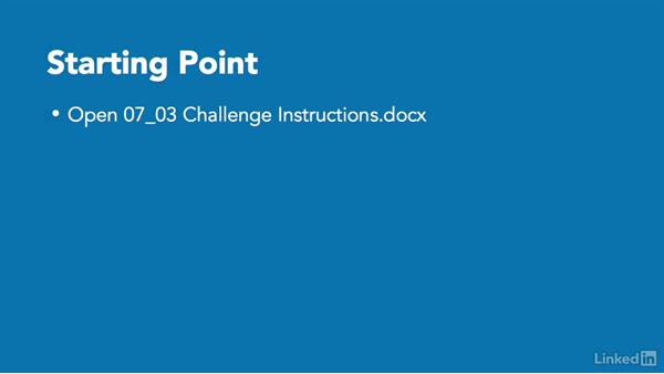 ✓ Challenge: Collaboration on presentations: PowerPoint 2010: Prepare for the Microsoft Office Specialist Certification Exam (77-883)