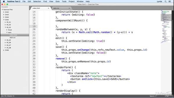 Keys: Learn React.js: The Basics