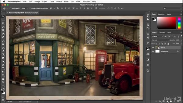 Creating the Smart Object: Photoshop: Smart Objects