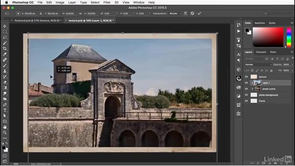 Replacing the contents: Photoshop: Smart Objects
